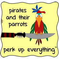 Pirate Shelia the Parrot